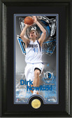 "Dallas Mavericks Dirk Nowitski ""Supreme"" Bronze Coin Panoramic Photo Mint"