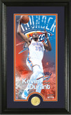 "Oklahoma City Thunder Kevin Durant ""Supreme"" Bronze Coin Panoramic Photo Mint"