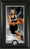 "San Antonio Spurs Tony Parker ""Supreme"" Minted Coin Panoramic Photo Mint"