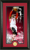 "Houston Rockets Dwight Howard ""Supreme"" Bronze Coin Panoramic Photo Mint"
