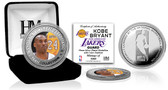 Los Angeles Lakers Kobe Bryant Silver Color Coin