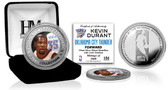 Oklahoma City Thunder Kevin Durant Silver Color Coin
