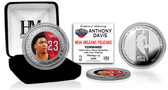 New Orleans Pelicans Anthony Davis Silver Color Coin