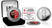 Houston Rockets James Harden Silver Color Coin
