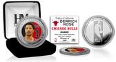 Chicago Bulls Derrick Rose Silver Color Coin