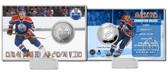 Edmonton Oilers Connor McDavid Silver Coin Card