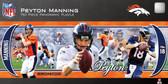 Denver Broncos Peyton Manning 750 Piece Panoramic Puzzle