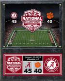 "Alabama Crimson Tide 2015 National Champions Plaque 15""x12"""