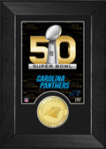 Carolina Panthers Super Bowl 50 Bronze Coin Mini Mint