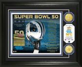 Carolina Panthers Super Bowl 50 Bronze Coin Photo Mint