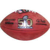 Super Bowl 50 Official Wilson Game Football (W/ Team Names)