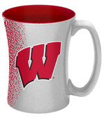 Wisconsin Badgers 14 oz Mocha Coffee Mug