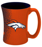 Denver Broncos 14 oz Mocha Coffee Mug