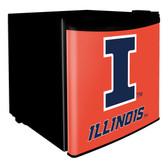 Illinois Fighting Illini Dorm Room Fridge