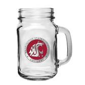 Washington State Cougars Mason Jar Mug