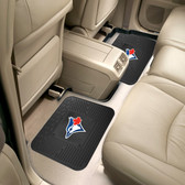 """Toronto Blue Jays Backseat Utility Mats 2 Pack 14""""x17"""""""