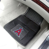 "Los Angeles Angels Heavy Duty 2-Piece Vinyl Car Mats 17""x27"""
