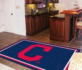"Cleveland Indians ""Block-C"" Rug 5'x8'"