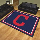 Cleveland Indians 8'x10' Rug