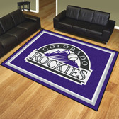 Colorado Rockies 8'x10' Rug