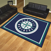 Seattle Mariners 8'x10' Rug