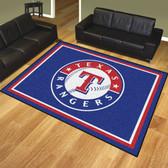 Texas Rangers 8'x10' Rug