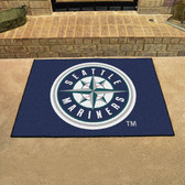 "Seattle Mariners All-Star Mat 33.75""x42.5"""
