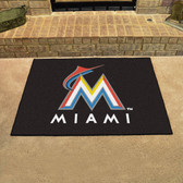 "Miami Marlins All-Star Mat 33.75""x42.5"""
