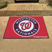 "Washington Nationals All-Star Mat 33.75""x42.5"""