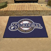 "Milwaukee Brewers All-Star Mat 33.75""x42.5"""
