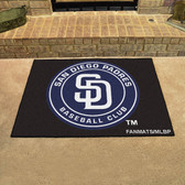 "San Diego Padres All-Star Mat 33.75""x42.5"""