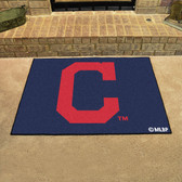 "Cleveland Indians ""Block-C"" All-Star Mat 33.75""x42.5"""