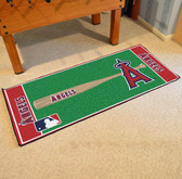 "Los Angeles Angels Baseball Runner 30""x72"""