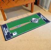 "Tampa Bay Rays Baseball Runner 30""x72"""