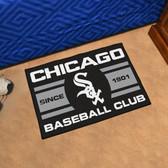 """Chicago White Sox Baseball Club Starter Rug 19""""x30"""""""