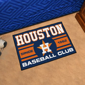 "Houston Astros Baseball Club Starter Rug 19""x30"""