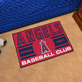 "Los Angeles Angels Baseball Club Starter Rug 19""x30"""