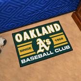 "Oakland Athletics Baseball Club Starter Rug 19""x30"""