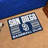 "San Diego Padres Baseball Club Starter Rug 19""x30"""