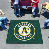 Oakland Athletics Tailgater Rug 5'x6'