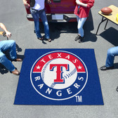 Texas Rangers Tailgater Rug 5'x6'