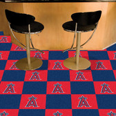 "Los Angeles Angels Carpet Tiles 18""x18"" tiles"