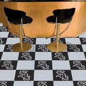"Chicago White Sox Carpet Tiles 18""x18"" tiles"