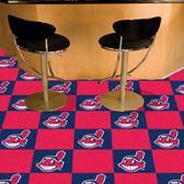 """Cleveland Indians Carpet Tiles 18""""x18"""" tiles"""