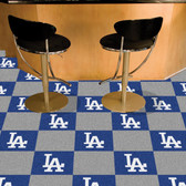 "Los Angeles Dodgers Carpet Tiles 18""x18"" tiles"