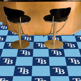 "Tampa Bay Rays Carpet Tiles 18""x18"" tiles"