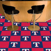 "Texas Rangers Carpet Tiles 18""x18"" tiles"