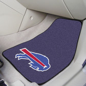 "Buffalo Bills 2-piece Carpeted Car Mats 17""x27"""