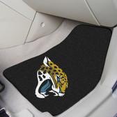 "Jacksonville Jaguars 2-piece Carpeted Car Mats 17""x27"""