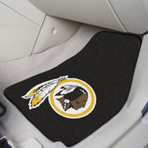 "Washington Redskins 2-piece Carpeted Car Mats 17""x27"""